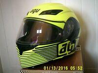 motorbike helmet agv flip size large