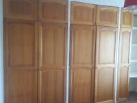 Built in cupboard doors FREEE!!