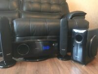 Samsung home cinema system. DVD player, speakers and subwoofer