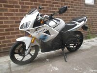 Lexmoto XTR 125cc With MOT