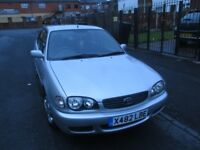 2000 TOYOTA COROLLA 1.4 VVTI PETROL MANUAL HATCHBACK, LOW MILES ONLY 40000. FULL SERVICE HISTORY,