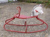 Children's Rocking Horse (Vintage 1960s)
