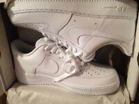 White Air Force 1 Size 10