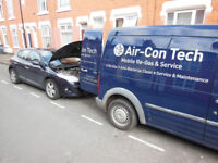 Air Conditioning regas, recharge, top up, r134a.