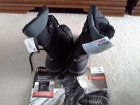 Brand New Men's winter boots as detail in photos SIZE 8 may be suitable as a size 9!