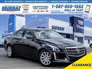 2014 Cadillac CTS **Luxury!  Sunroof!**