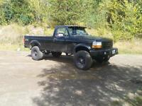 1993 f350 diesel with powerstroke conversion
