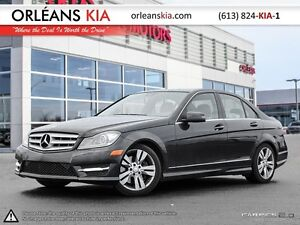 2012 Mercedes-Benz C-Class C300 4MATIC FULLY LOADED !!