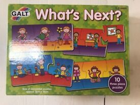 Rare Galt What's Next storytelling puzzle