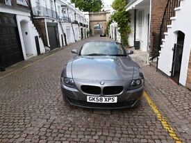 2008 BMW Z4 SE 2.0 litre, manual gearbox, low mileage and excellent condition