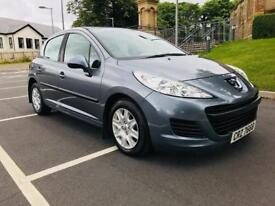 MAY 2011 PEUGEOT 207 S 1.4 PETROL ONLY 37,000 MILES FULL SERVICE HISTORY EXCELLENT CONDITION