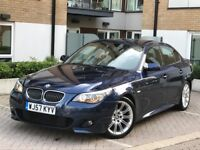 2008 BMW 530D M-SPORT AUTO LCI FACE LIFT SAT NAV DVD HPI CLEAR 2 KEYS BMW HISTORY IMMACULATE IN/OUT