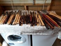 Assortment of high quality wood turning chisels