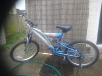 Selling my bikes due not using it .excellent condition both. Kids bike fit from 125cm .