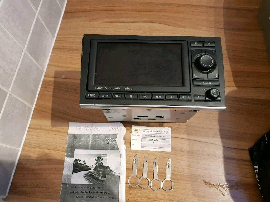 Used Audi a4 rns e Sat nav / MMI Unit | in Sheffield, South Yorkshire |  Gumtree