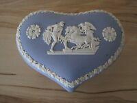 Wedgewood Heart Trinket Box