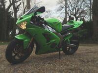 Great example of a rare Green 2003 Kawasaki ZX6R Ninja (2 months MOT & Full Service May 2016)