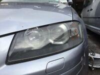 Audi A3 S3 Xenon headlights pair