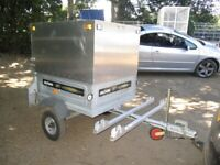 UNIQUE DAXARA 107 TRAILER WITH HIGH ALLOY BOX......... 2X CYCLE RACKS....