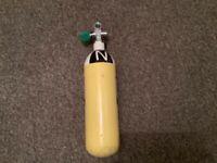 Diving equipment...3 litre 232 bar pony cylinder