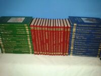 Classic Adventures Hard Back Books - 45 Different - Various Authors early 1990s great condition