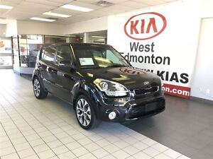 2013 Kia Soul 4U Luxury, Leather, Sunroof, FWD 2.0L Auto