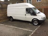 FORD TRANSIT LWB HIGH ROOF, FAULTLESS, AVERAGE CONDITION, 1 YEARS MOT