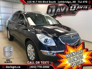 2012 Buick Enclave CXL AWD, HEATED/COOLED LEATHER, 7 PASSENGER