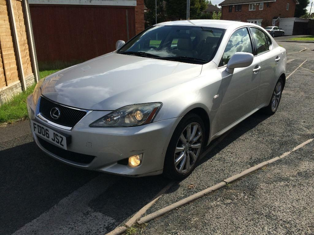 lexus is 220d turbo diesel 1 owner from new fully loaded. Black Bedroom Furniture Sets. Home Design Ideas