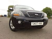 07 KIA SORENTO XT 2.5 DIESEL 4X4,MOT MAY 019,3 OWNERS FROM NEW,PART HISTORY,2 KEYS,STUNNING EXAMPLE
