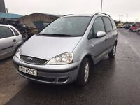 2005 1.9 Diesel Ford Galaxy. Breaking for parts only. Postage Nationwide
