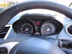 Ford Fiesta 1.6 S 2 door in metallic black.