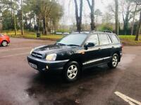 HYUNDAI SANTA FE/2006 DIESEL AUTOMATIC/JEEP/FULL SERVICE HISTORY/1 OWNER/1 YEAR MOT/STATION WAGON
