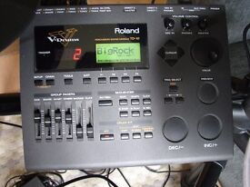 Roland TD10 & V Drums - Professional Electronic Drum Kit Mesh Heads