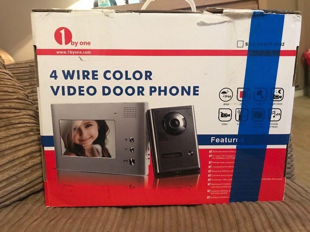 4 Wire Video Door Bell