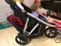 Phil & Teds Vibe Double buggy/stroller + extras