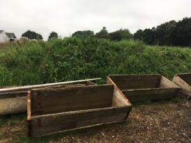 Vintage cattle troughs- fully restored and ideal planters