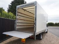 24/7 Cheap House Flat Office Removal Van & Man Hire & Luton Piano Delivery Men Packing 2/3 Handymen