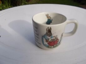 Wedgwood Beatrix Potter Peter Rabbit childrens mug