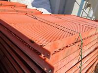 Rubber Coated Flooring Slats - Heavy Duty Self Supporting