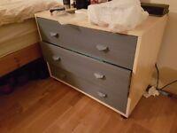 Good sized bedside set of drawers