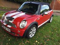 Mini Cooper 1.6 convertible 2006 facelift model 3 door hatch mot July cooper s look a like