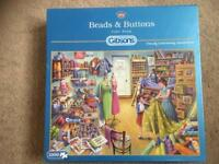 Beads & Buttons 1000 piece puzzle