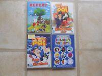 Children's DVD's Bundle of 4 (1)