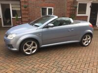 2008 Vauxhall Tigra 1.4 Exc 16v CR Convertible, 2 DOOr, Manual, Petrol, 1 years MOT* 6 stamps in SH