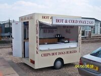 CATERING TRAILER FOR SALE SINGLE WHEEL