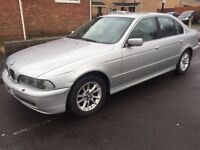 BMW 5-SERIES (525d) Automatic Diesel, full History £600