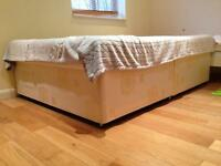 Double bed and spring mattress in Sutton