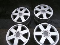 4.audi wheels 17 in