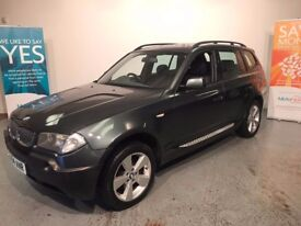 2004 / 54 BMW X3 2.5 SPORT ..FANTASTIC CONDITION THROUGHOUT ..VIEWING STRONGLY RECOMMENDED